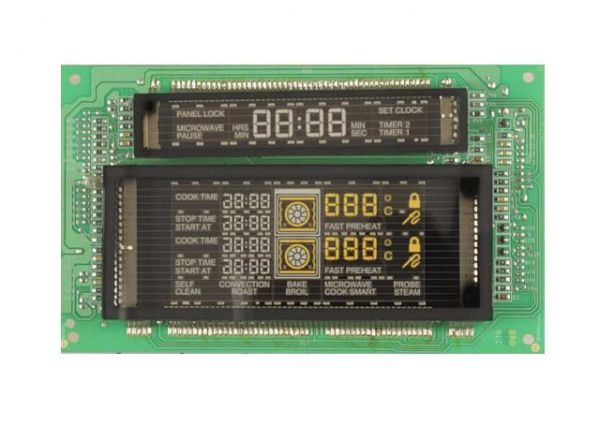 00144001 Bosch Thermador Range Oven Display Board RFR