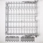 00249277 Bosch Dishwasher Upper Rack