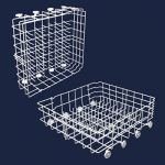 154866702 Sears Kenmore Lower Dishwasher Rack
