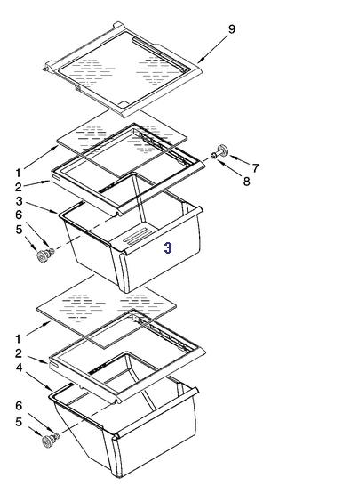 wp2188661 maytag refrigerator crisper drawer