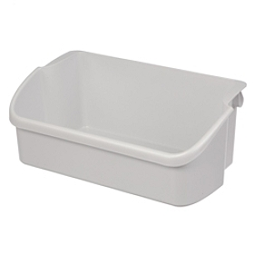 240324501 Frigidaire Refrigerator Gallon Door Storage Bin WHITE