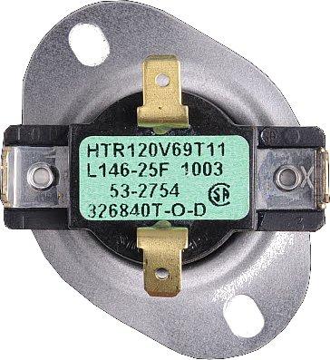 31001088 Jenn-Air Dryer Control Thermostat