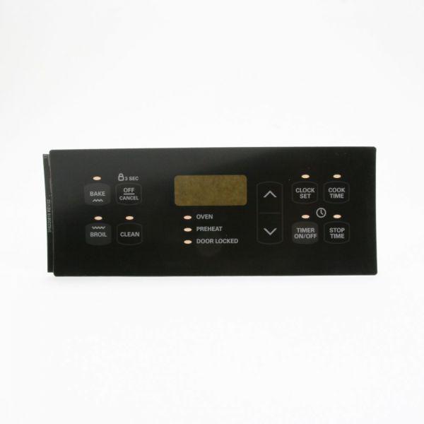 Lg Dryer Repair >> 316220818 Sears Kenmore Range Oven Control Overlay Black