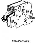 WP3946450 Whirlpool Washer Timer