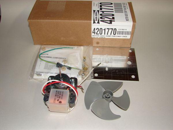 4201770 Sub Zero Freezer Evaporator Motor Kit 501f 601f