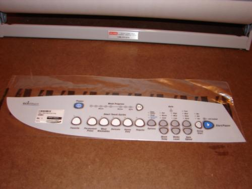 420807 Fisher Paykel Washer Control Panel Overlay