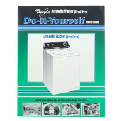 4313896 Whirlpool Kenmore Direct Drive Washer Repair Manual