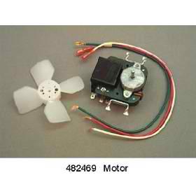 482469 sears kenmore coldspot evaporator fan motor for Kenmore refrigerator fan motor