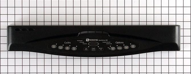 6 917713 Maytag Dishwasher Control Panel Black