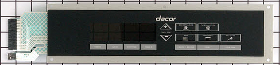 62309 Dacor Range Oven Touch Panel Control