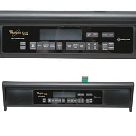 8300440 Whirlpool Range Control Panel Black