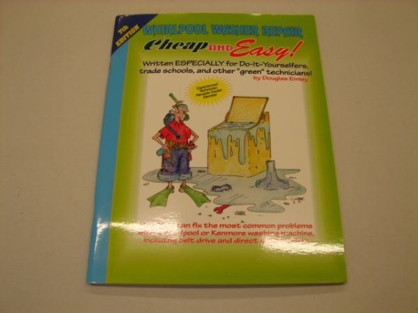 EBWW Supco Whirlpool Kenmore Top-Loading Washer Repair Manual
