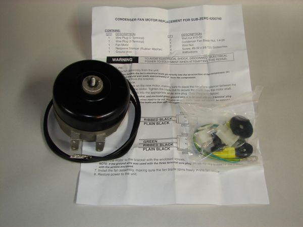 Supco Sm0740 4200740 Sub Zero Refrigerator Condenser Fan Motor