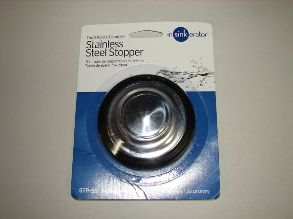 Stp Ss In Sink Erator Stainless Steel Sink Stopper 8300