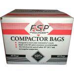 "W10165293RB Whirlpool 18"" Trash Compactor Bags 60 Pack"