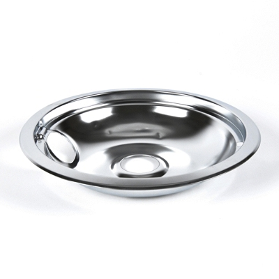 W10196405rw Whirlpool 8 Quot Drip Pan Chrome