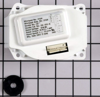 W10822635 Whirlpool Refrigerator Ice Dispenser Motor W10271507