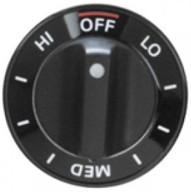 WB3K5069 Whirlpool Roper Range Oven Control Knob