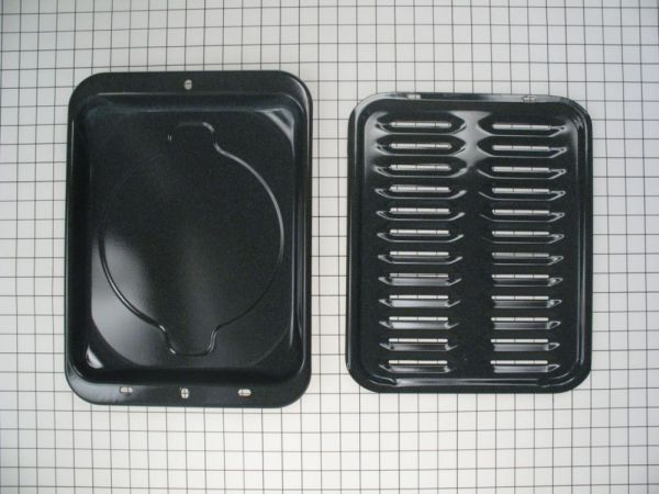 Wb48x10056 Ge Hotpoint Broiler Pan Set