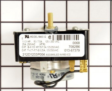 We04x20089 General Electric Hotpoint Dryer Timer