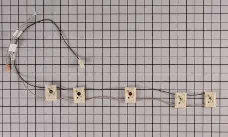 Wp74007806 Maytag Range Cooktop Wire Harness