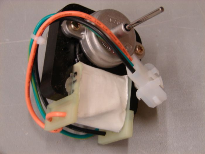 Wr60x10168 general electric hotpoint condenser fan motor kit for Hotpoint refrigerator condenser fan motor